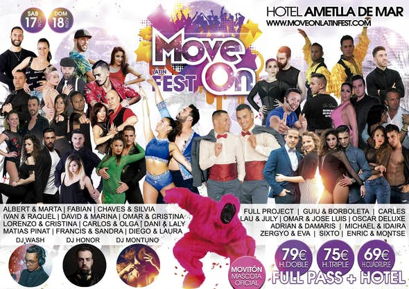 MOVE ON Latin Fest 2018