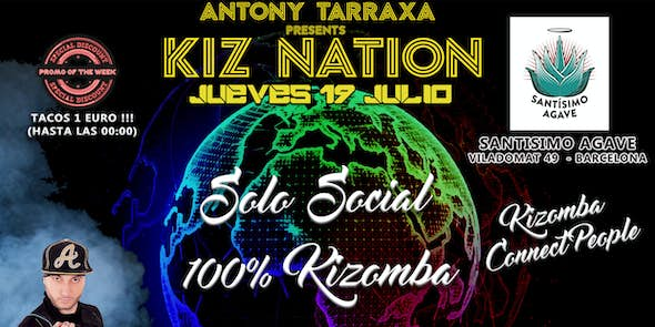 Santisimo Agave Kizomba Thursday Barcelona