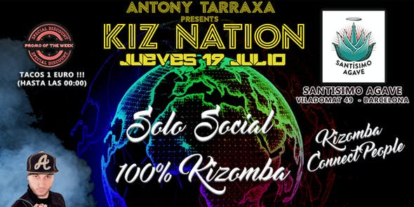 Santisimo Agave Kizomba Thursday Barcelona