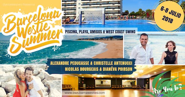 Barcelona Westie Summer 2018 - Intensivo West Coast Swing