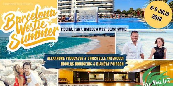 Barcelona Westie Summer 2018 - West Coast Swing Intensive
