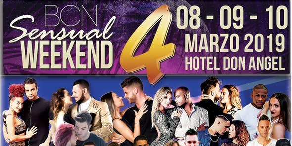BCN Sensual Weekend March 2019 (4th Edition)