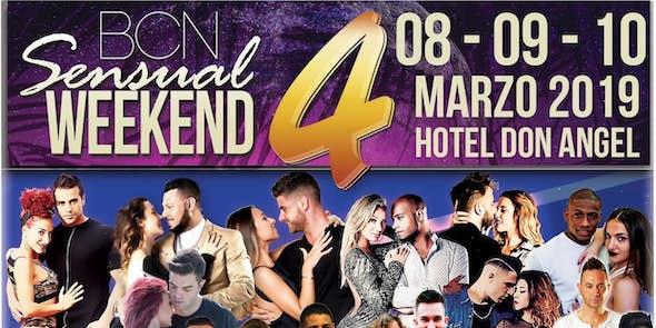 BCN Sensual Weekend Marzo 2019 (4ª Edición)