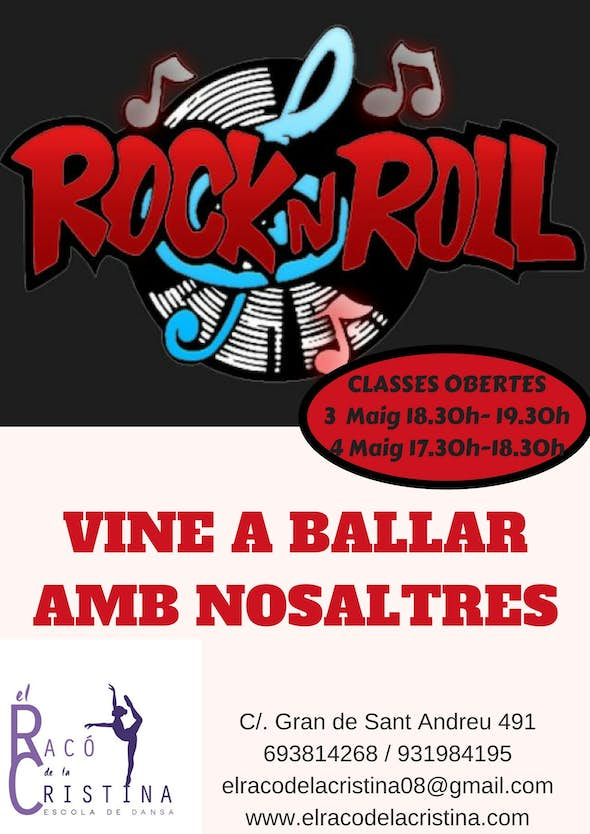 Open Class of Rock'n'Roll in Barcelona - Friday 4 of May