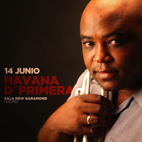 HAVANA D' PRIMERA en concierto en New Garamond Madrid - Con Mariana & La Makynaria - 14 Junio 2018