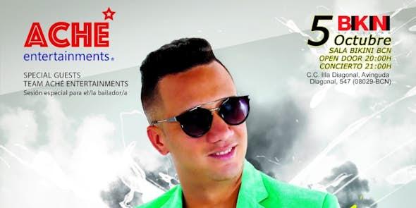 Maykel Blanco y su Salsa Mayor en concierto en Sala Bikini Barcelona