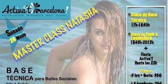 Master Class de Base Técnica con Natasha