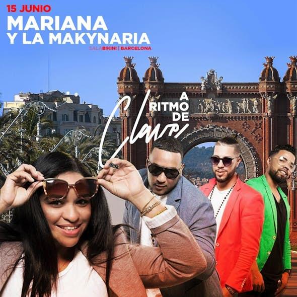 MARIANA & LA MAKYNARIA concert in Barcelona with A Ritmo de Clave