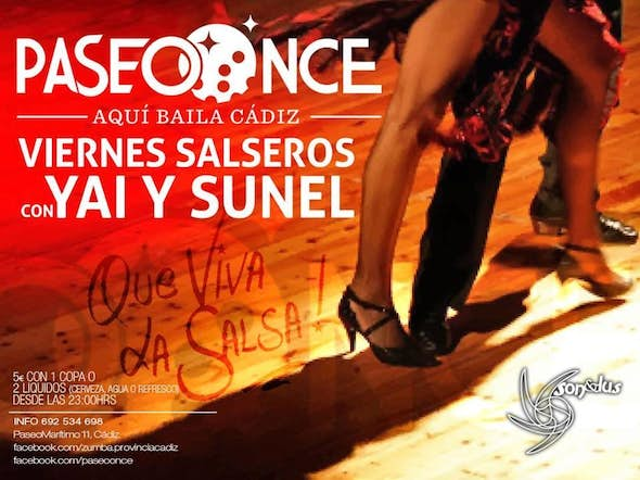 "Salsa fridays with ""Yai and Sunel"""