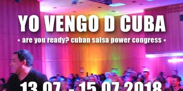 Yo Vengo D Cuba 2018