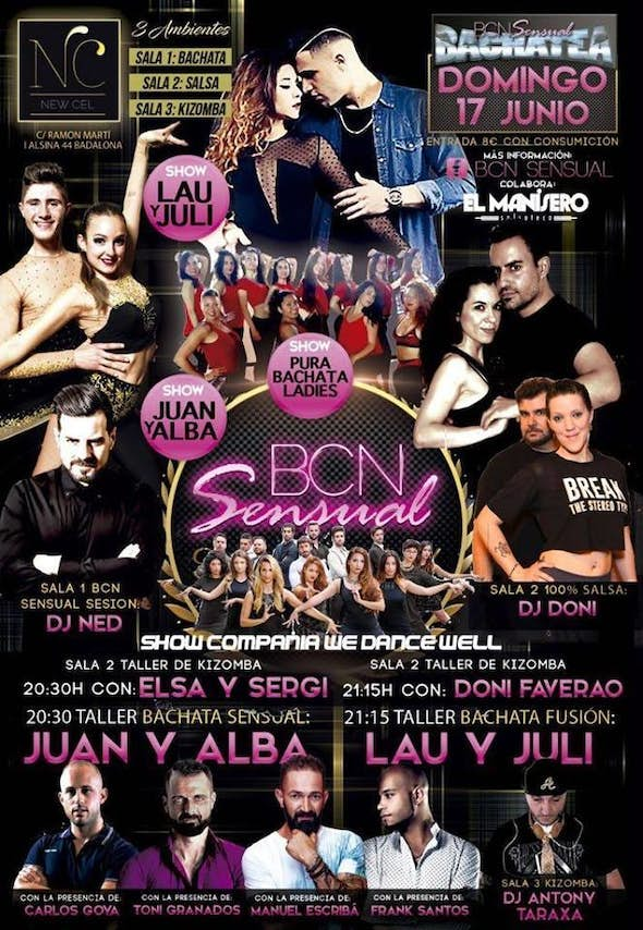 Sunday 17th June - Sunday Edition New Cel by BCN Sensual