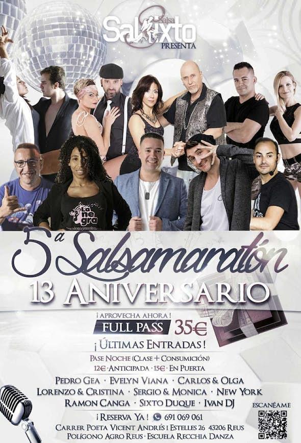 Salsamaratón 2018 (5ª Edición ) - Sábado 4 de Agosto