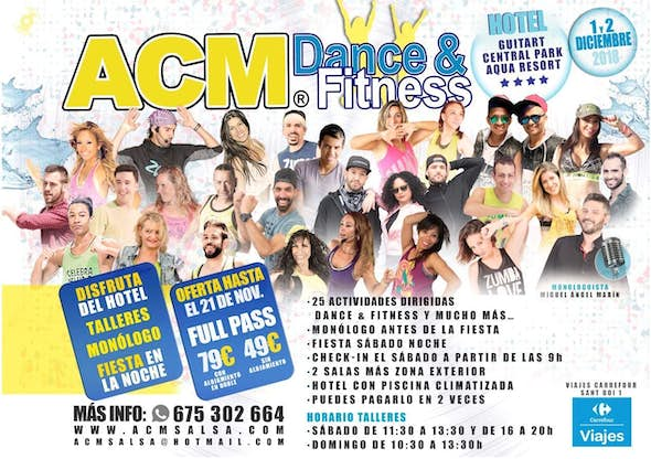 ACM Dance and Fitness 2018