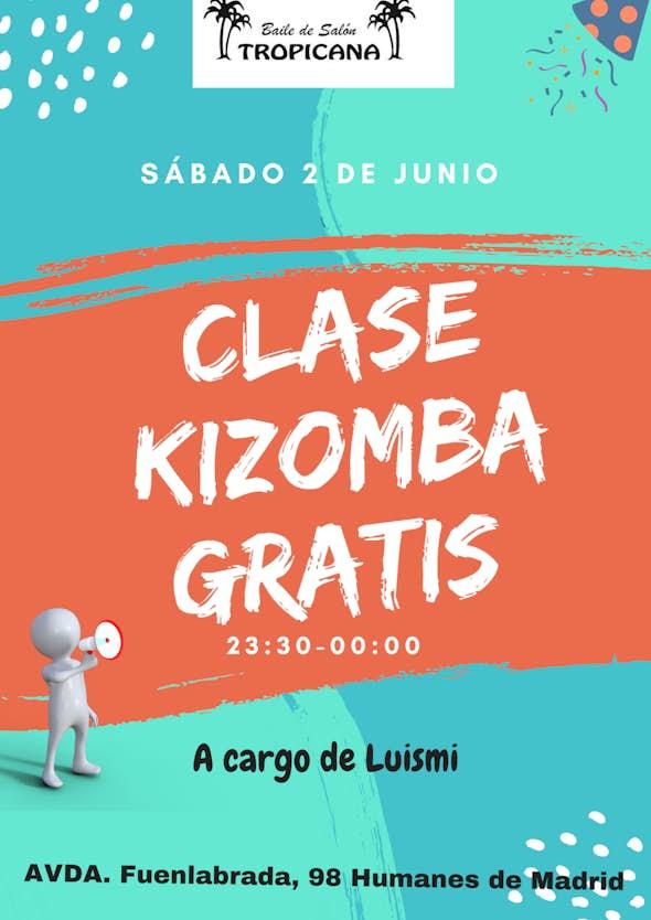 Clase Kizomba Gratis
