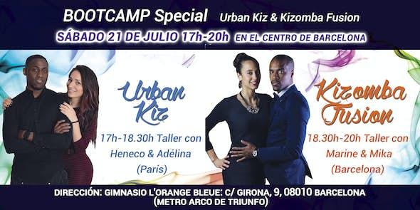 Bootcamp Urban Kiz VS Kizomba Fusion