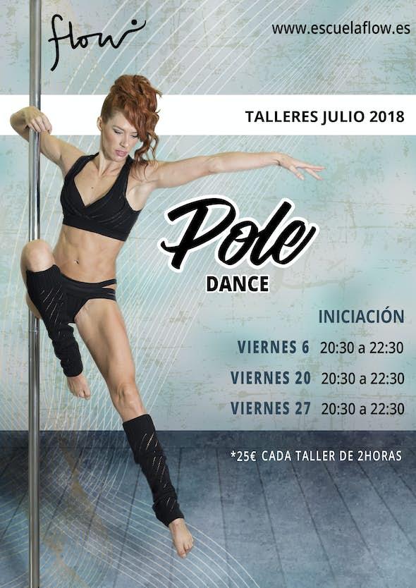Pole dance iniciación