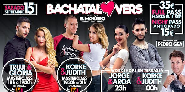 BACHATA LOVERS - Saturday 15th September