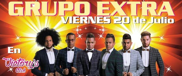 Grupo Extra in concert in Mallorca - 20 July 2018 - Sala Victorys