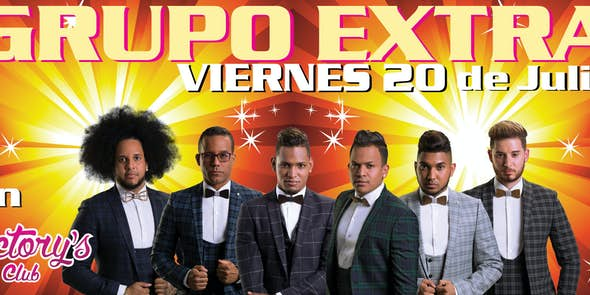 Grupo Extra in concert in Mallorca - 20 July - Sala Victorys