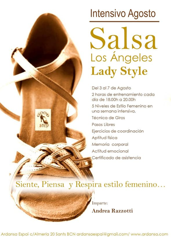Salsa Los Ángeles Lady Style