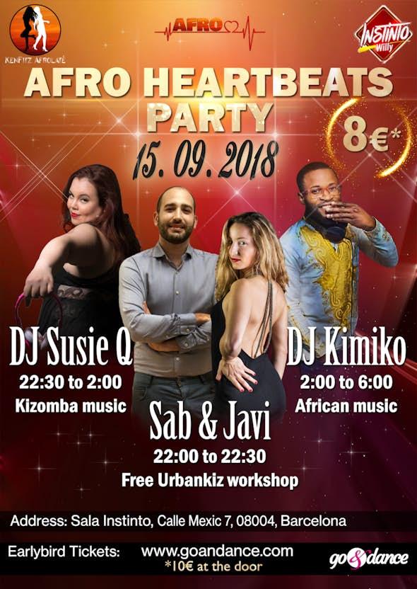 Afro Heartbeats Party - Kizomba & Afro