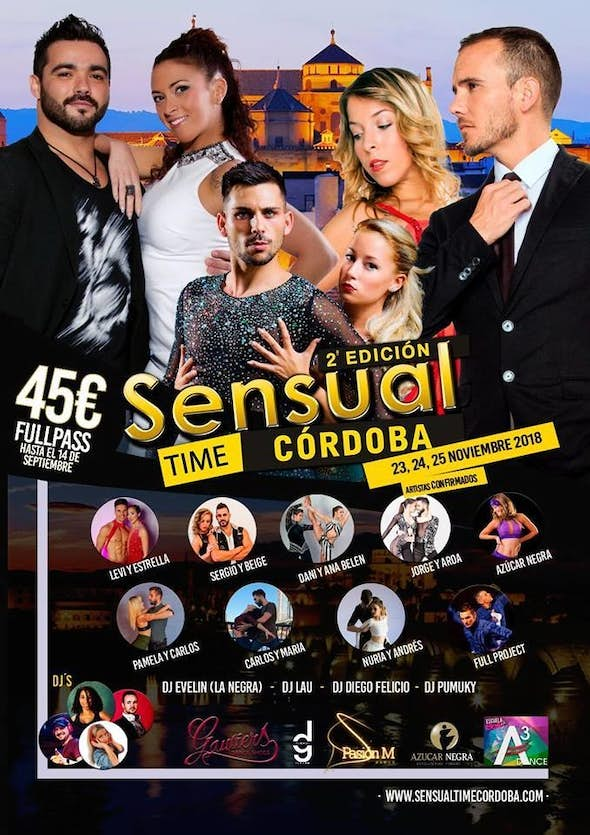 Sensual Time Córdoba 2018 (2nd Edition)