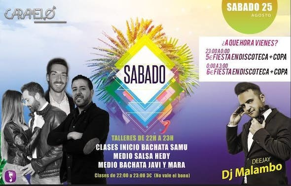 Latin Saturdays in Caramelo Sevilla