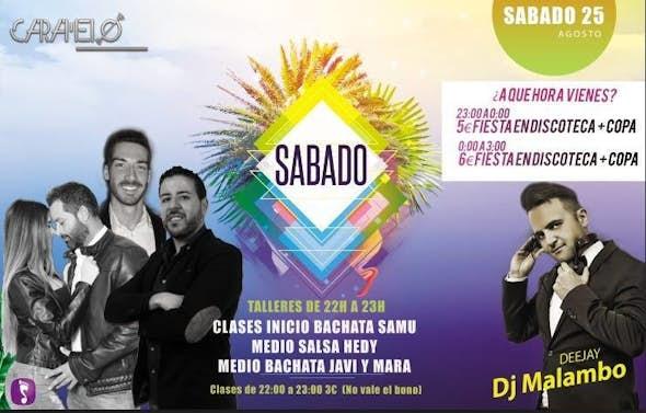 Sabádos Latinos en Caramelo Sevilla
