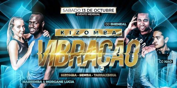 Kizomba Vibração Night - Monthly Party Saturday October 13th