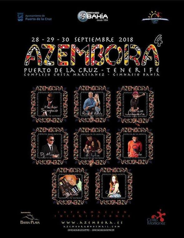 Azembora Tenerife Festival 2018 (4ª Edición)
