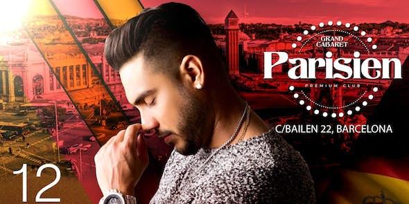 Ronald Borjas in concert in Barcelona - October 12, 2018