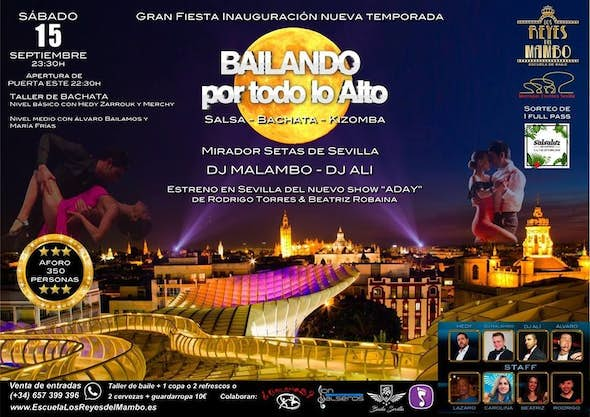 Bailando por todo lo Alto - Saturday 15 September