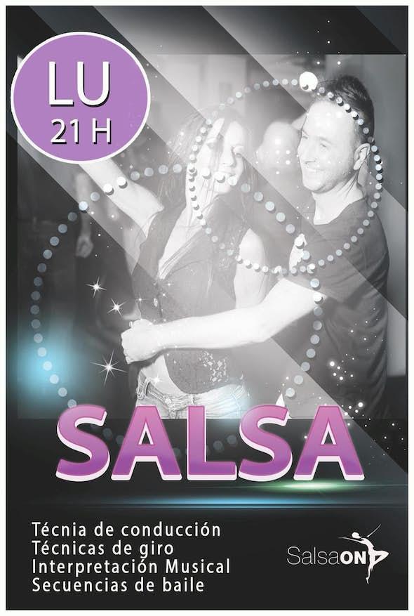 Inicio de clases de Salsa iniciación en Salsa On Escuela de Baile
