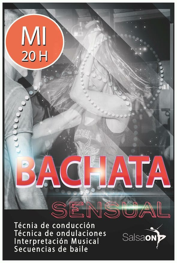 Sensual Bachata Beginners Course - Wednesday in Salsa ON Dance School