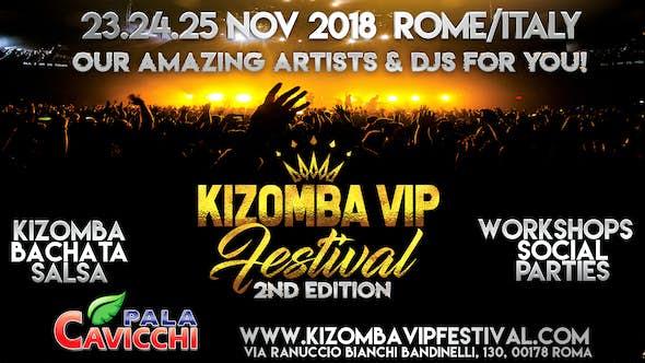 Kizomba Vip Festival Roma (2ª Edición)