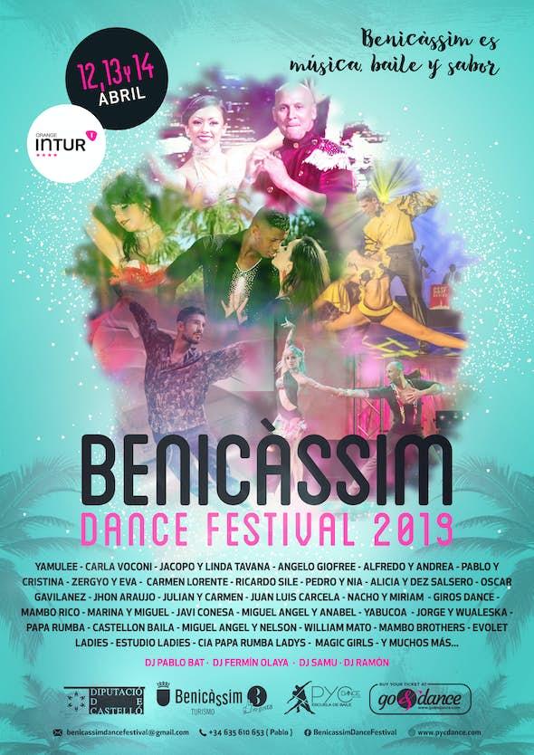 Benicassim Dance Festival 2019 - Mambo, Salsa On2, Salsa & Bachata