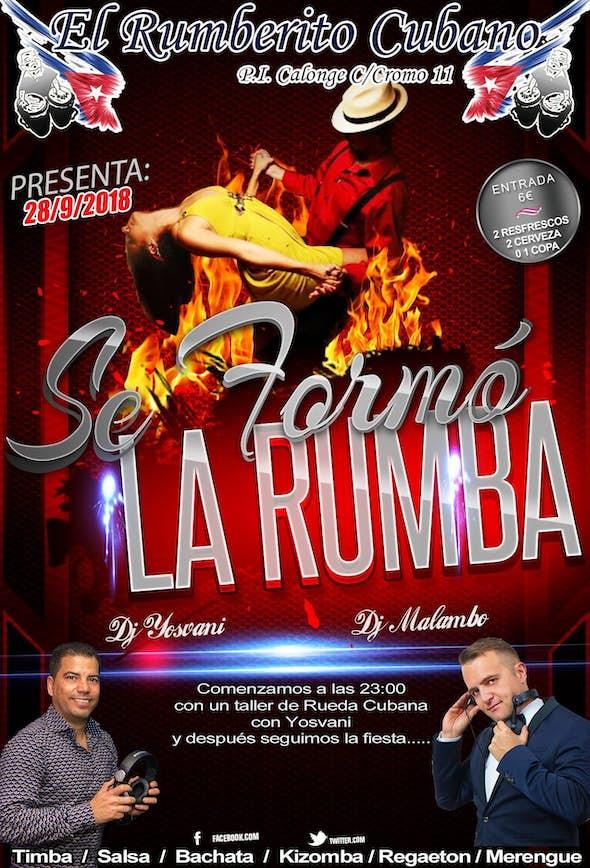 Se Formó La Rumba en El Rumberito Cubano - Viernes 28 de Septiembre
