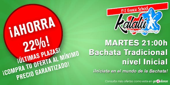 ¡DEAL! Caleña Traditional Bachata for Beginners (Limit until October 9)