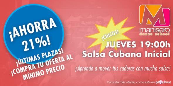 ¡OFERTA! Clases de Salsa Cubana Inicial (Límite hasta el 11 de Octubre)
