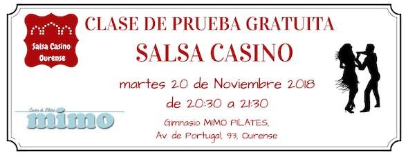 Clase de prueba de Salsa Casino