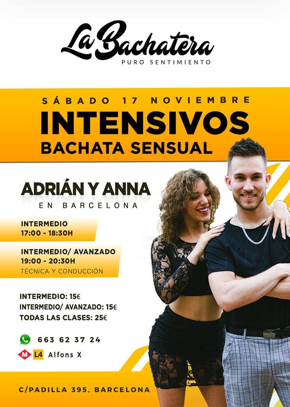 Intensive Workshop Adrián and Anna - Barcelona November 17th