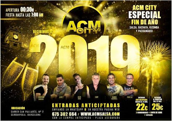 Fin de Año 2018 en ACM City