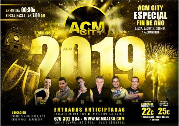 New Year's Eve 2018 in ACM City