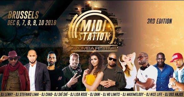 MIDI Station Kizomba Festival 2018 (3ª Edición)
