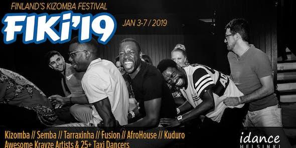FIKi'19 – Finland's International Kizomba Festival