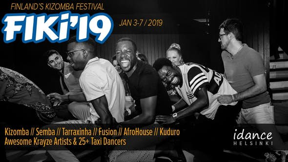 FIKi'19 – Finland's International Kizomba Festival 2019 (4th Edition)