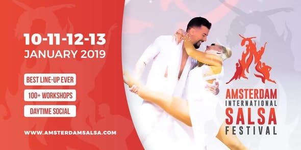 Amsterdam International Salsa Festival 2019 (7ª Edición)