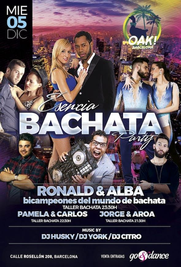 Esencia Bachata Party - Barcelona, 5 de diciembre 2018