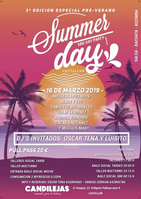 3° Summer Day Castellón 2019 (Sala Candilejas)