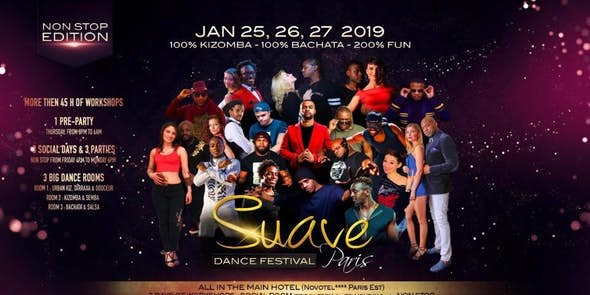 Suave Dance Festival Paris 2019 (6ª Edición)